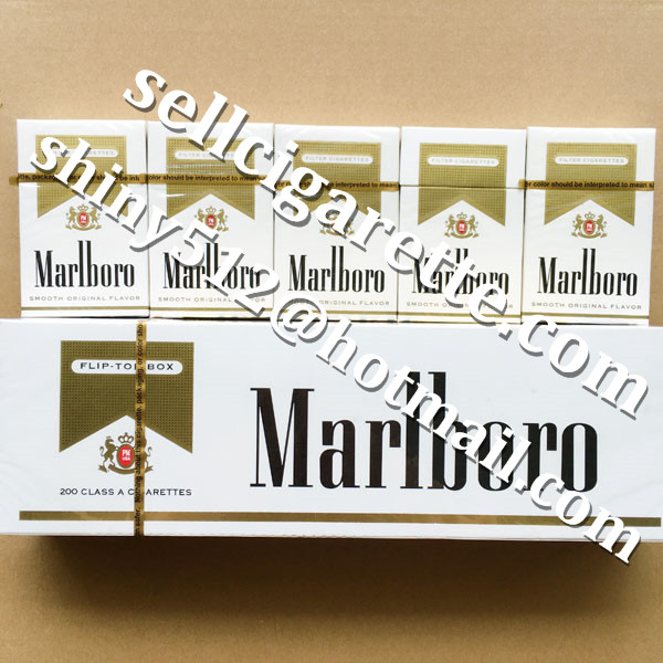 Buy 1 Carton Cheap Marlboro Gold Regular Cigarettes On Sale