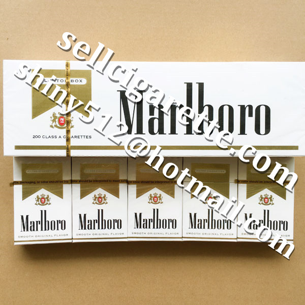 Online Order Marlboro Gold King Size Hard Pack Cigarettes 20 Cartons Wholesale