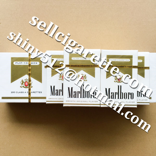 Free Shipping Marlboro Gold Hard Packs Cigarettes 40 Cartons Online