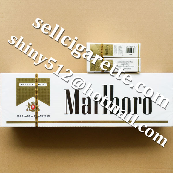 Outlet 50 Cartons Of Marlboro Gold Regular Cigarettes To USA