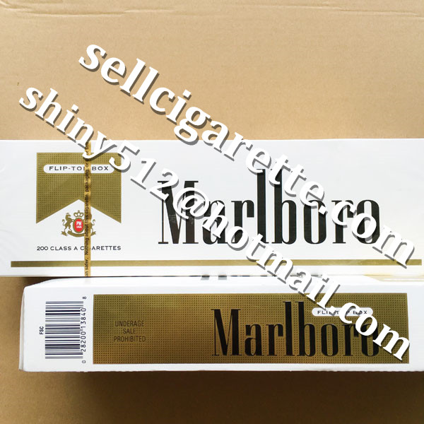 Free Taxes Cheap Marlboro Gold Short Cigarettes 100 Cartons Clearance