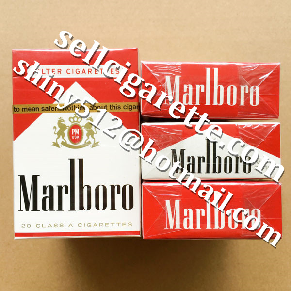 Duty Free Marlboro Red Short Cigarettes Online Sale 3 Cartons